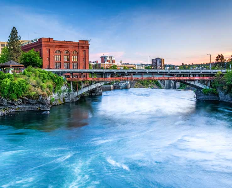 Spokane, Washington, USA Image