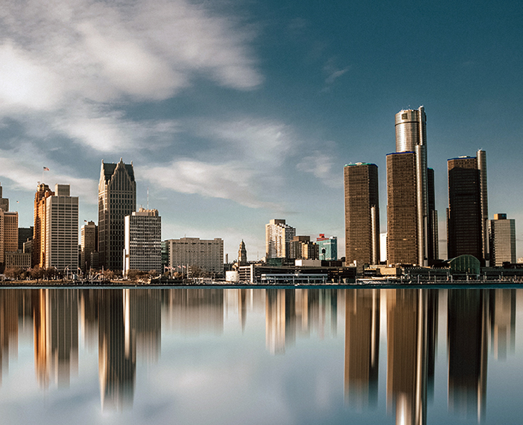 Detroit, Michigan, USA Image