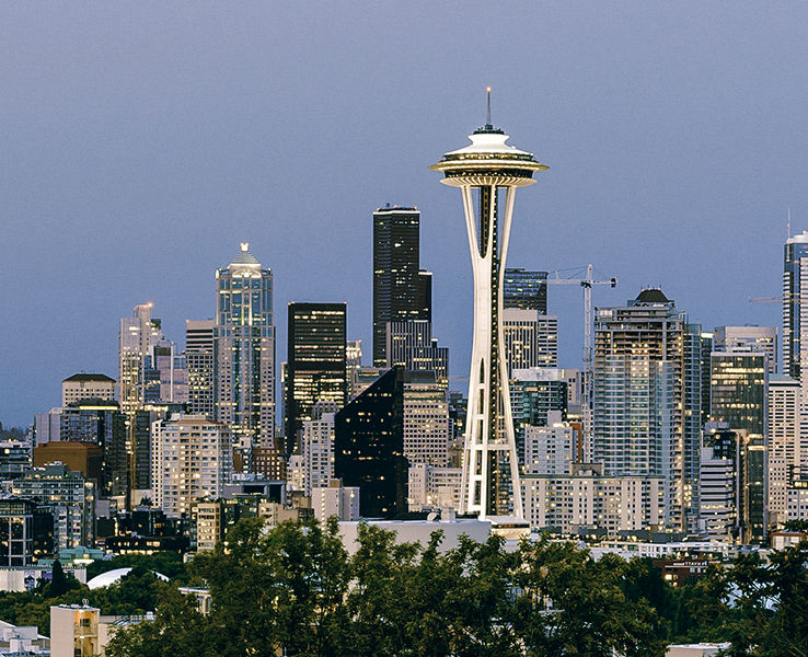 Seattle, Washington, USA bilde