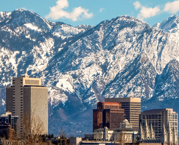 Salt Lake City, Utah, USA, bild
