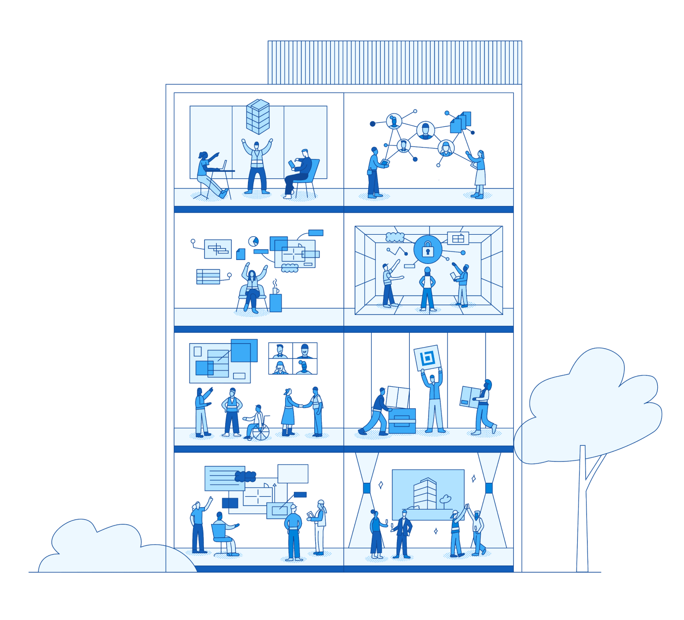 Bluebeam® digital construction solutions make it easy to onboard teams, securely collaborate in the cloud, and leverage data to make better decisions from project start to finish.